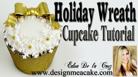 cupcake-wreath