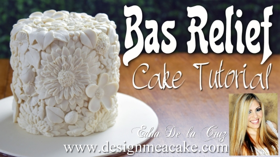 Bas Relief Cake Tutorial