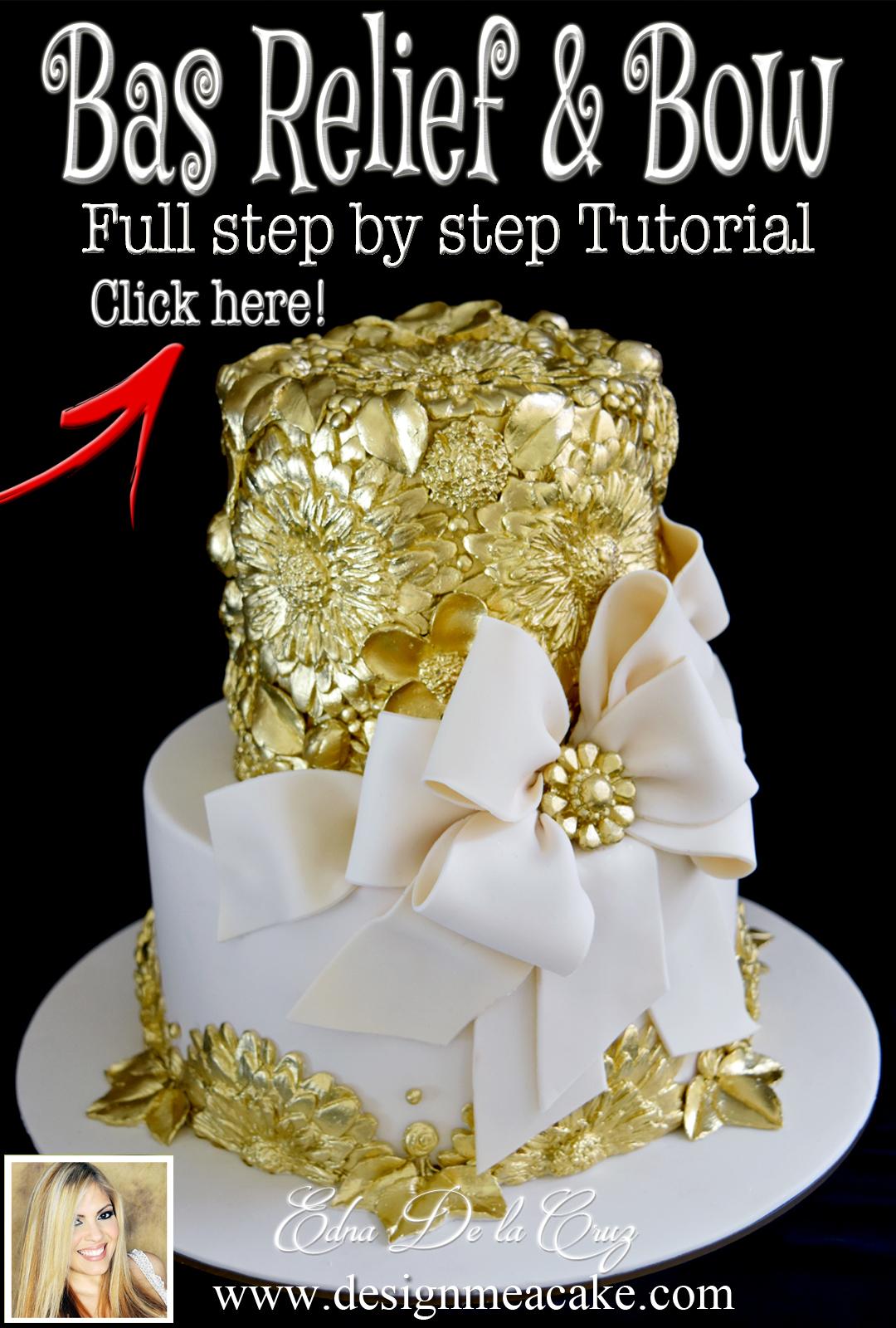 Bas Relief Tutorial | Design Me a Cake