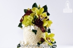Gumpaste flower arrangement.