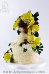 Rosette Cake Design